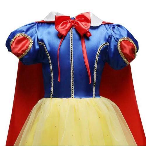 Princess Snow Girls Dress
