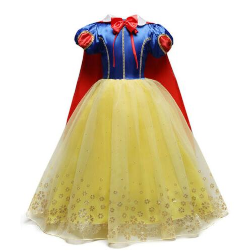 Princess Snow Up Kids Dresses for Girls Dress