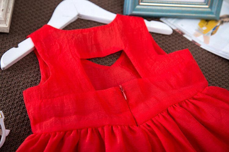 Summer Dress Girl Clothes Kids Girls