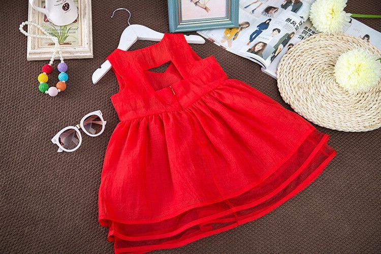 Summer Children Girl Clothes Dresses Kids Dresses For