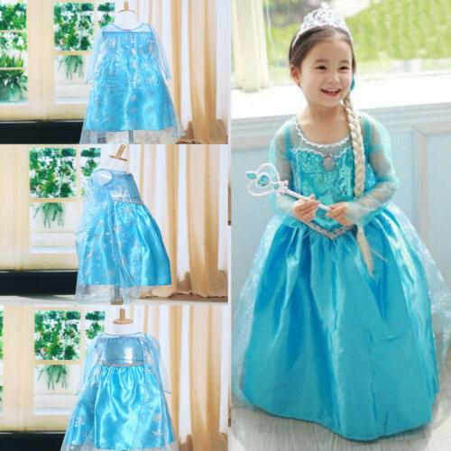 toddler girl kid children princess anna elsa
