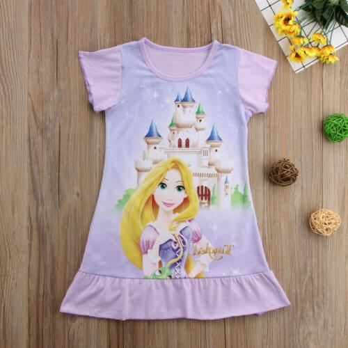 Toddler Rapunzel Belle Aurora Print Summer