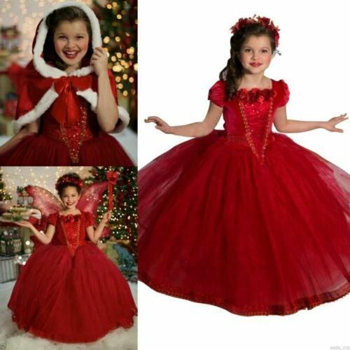 toddler kids girls dresses costume snow white