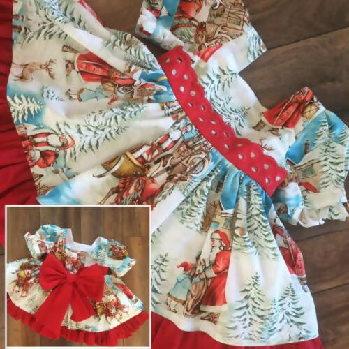 US Toddler Kids Winter Dress Dresses Outfits