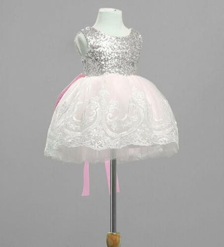 US Girls Party Prom Bridesmaid Tutu Dresses