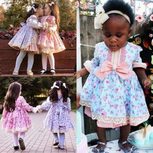 USA Lace Wedding Gown Tutu for Kids