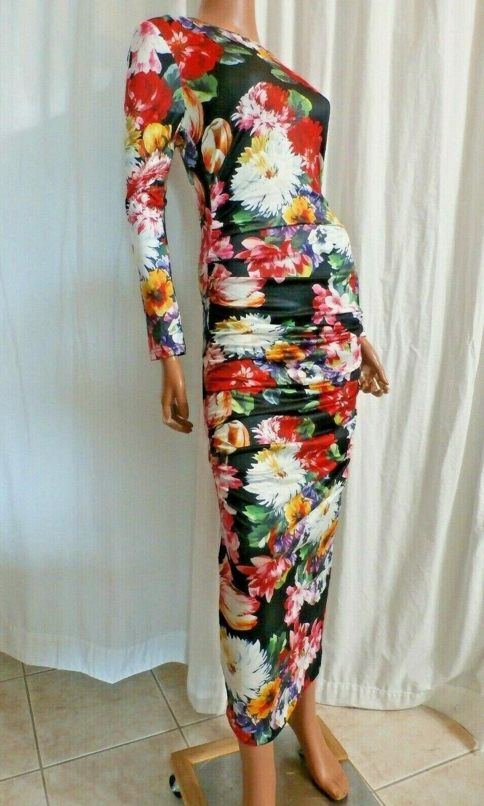 USA MISSLOOK SZ 3XL BUST 42 BLACK MAXI DRESS