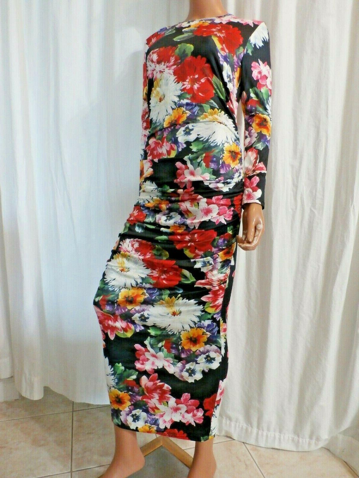 USA SELLER SZ 3XL BUST BLACK MAXI DRESS