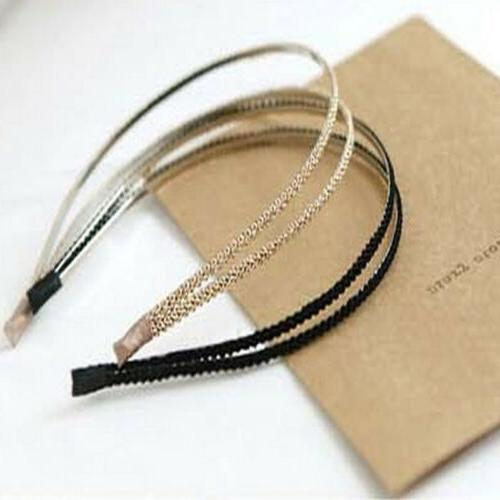 Women Girls Crystal Accessories Fashion Dress Hair Band Gift