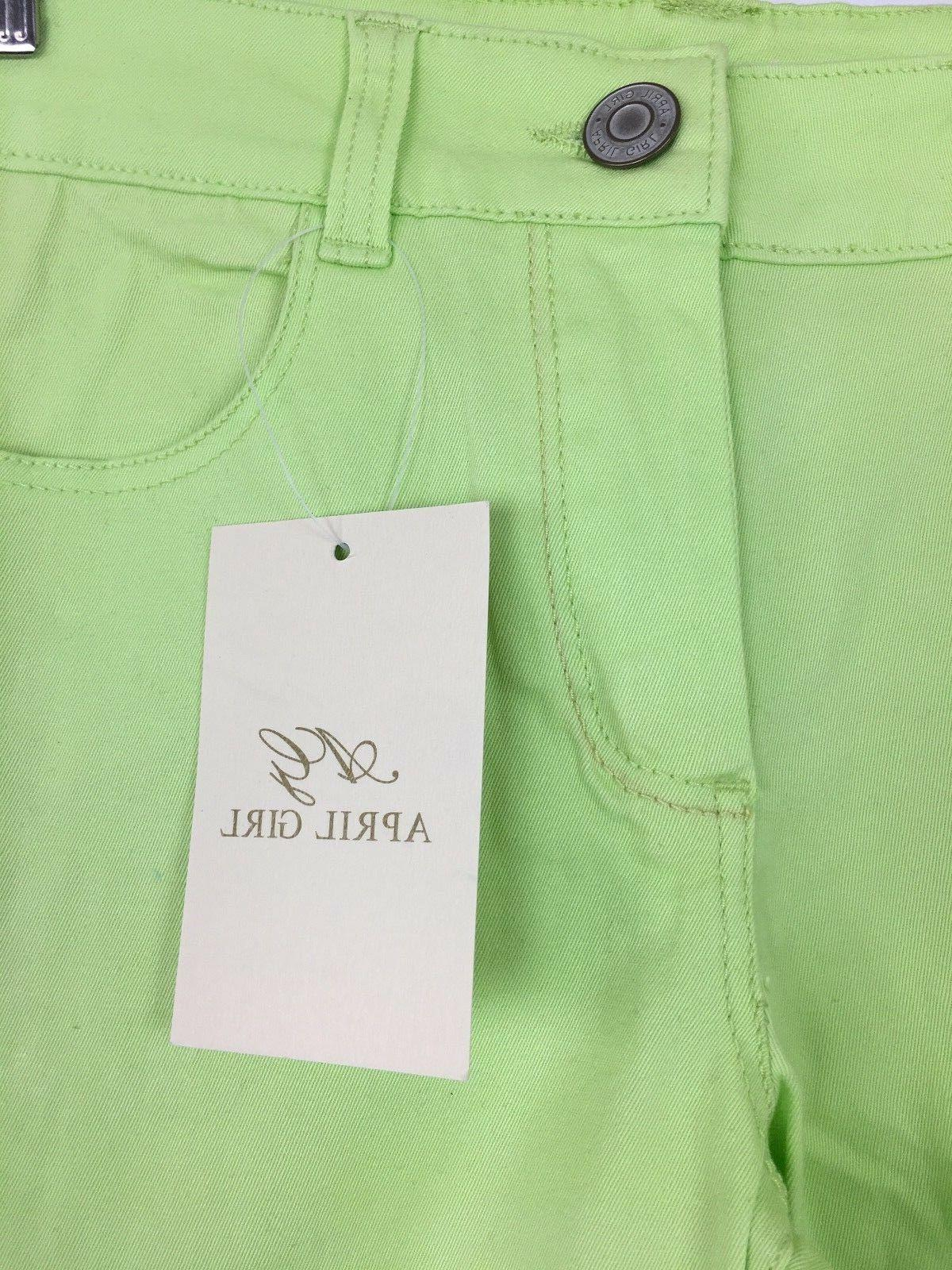 Mid Rise Ankle Jeans Neon 7