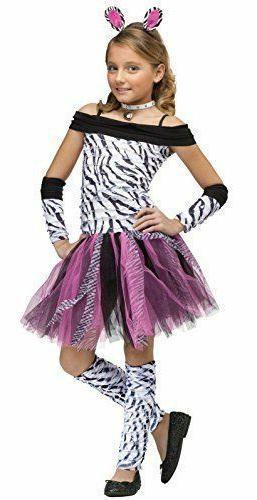 zebra costume for girls sizes 4 6