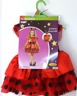 Disguise Ladybug Toddler Child 3 piece Dress Up Costume for