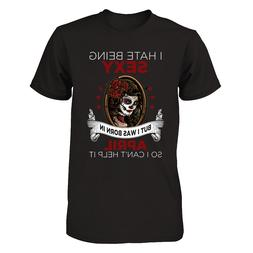 LCG April Girl t-shirt for women - Funny Unisex Shirts birth