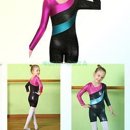 BAOHULU Leotard for Girls Gymnastics Toddler Sparkle Stripes
