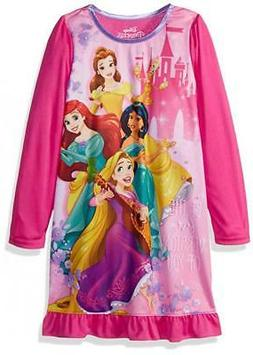 Disney Princess Little/Big Girls Character Night Gown Size 4