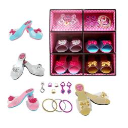 Little Girl Role Princess Dressup & Play With Jewelry Boutiq