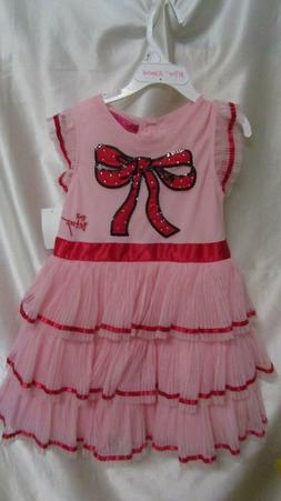 LITTLE GIRL`S BETSY JOHNSON PARTY DRESS SIZE 3T NEW /W T PIN