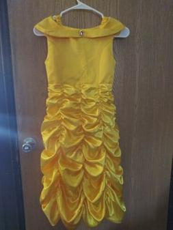 """""""ReliBeauty Little Girls Layered Princess Belle Costume Dres"""