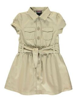 """French Toast Little Girls' """"Safari Classic"""" Belted Dress"""