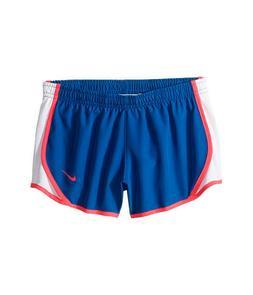 Nike Little Girls sz 6 Tempo Shorts Blue Jay Racer Pink Whit