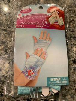 Little Mermaid Ariel Gloves Disney Princess Play Costume Fan