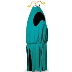 Men's Sesame Street Blue Yip Yip Adult Costume with Attached