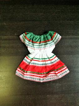 Mexican Baby Dress Traditional Dress Size 6mos-2T For Girls