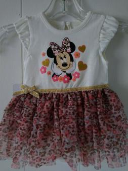 Disney Baby Mini Mouse TUTU Girls Dress 3-6 months for birth