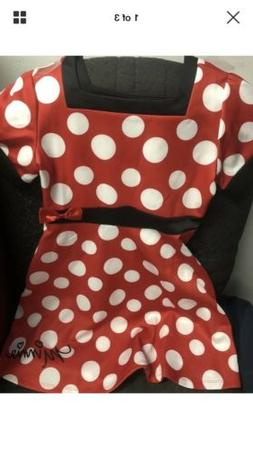 Disney Minnie Mouse Dress New in bag for girls costume for h