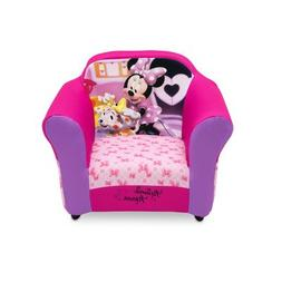 Disney Minnie Mouse Plastic Frame Upholstered Kids Girls Pin