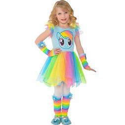 My Little Pony Rainbow Dash Colorful Tutu Dress for Girls On