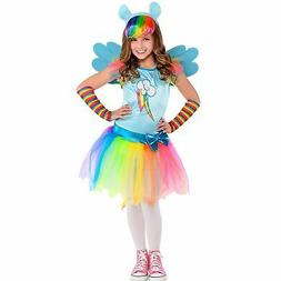 My Little Pony Rainbow Dash Costume for Girls, Includes a Dr