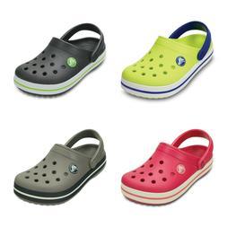New Crocs Crocband Clogs Sandals Shoes Kids Boys Girls SZ 8/