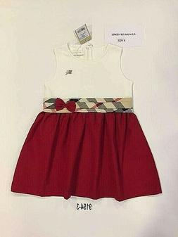 new Burberry Girl Dress Shirt skirt Nova Check Youth baby to