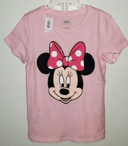 NEW Old Navy Girls 5T Minnie Mouse Disney Tee PINK T-Shirt T