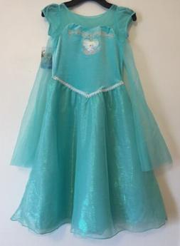 NEW!! - Girls Disney Frozen Dress - Teal - Size: 6