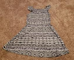 New Girl's Size 14 XL The Children's Place black/white s