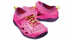 New Girls CROCS Swiftwater Play Summer Sandal Shoes SZ 8 9 1