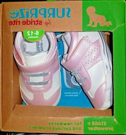 New SURPRIZE by STRIDE RITE Infant Girls 6-12 Months Pink EV
