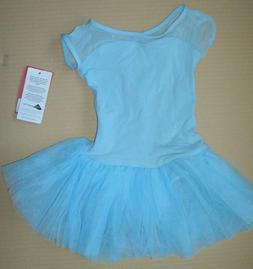 New Capezio Toddler Light Blue Keyhole Tutu Dress