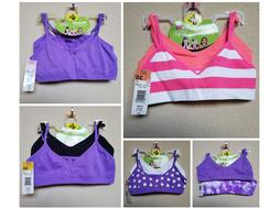 *NWT - FRUIT OF THE LOOM - GIRL 2 PC SEAMLESS STRAPPY BRA -