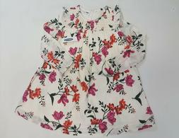 NWT Old Navy Girls Size 3t 4t or 5t Off White Smocked Flower