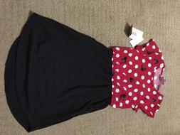 NWT Girls Size 8 Lularoe Kids Mae Disney Dress Minnie Mouse