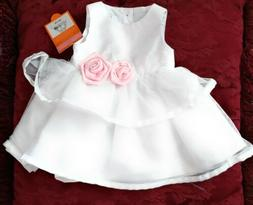 NWT - Just One You by Carter's Girls White 2-pc Special Occa
