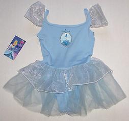 Nwt New Capezio Disney Princess Leotard Dress Tutu Cinderell