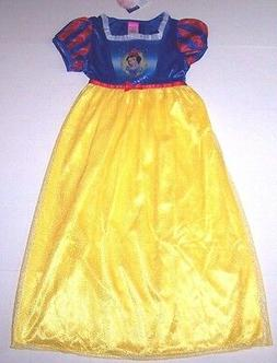 Nwt New Disney Princess Snow White Nightgown Pajamas Costume