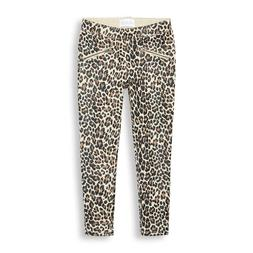 NWT The Children's Place Girls Glitter Leopard Print Jegging
