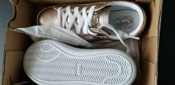 Original Keds Girls Shoes US Size 9M Color - Ace Rose Gold