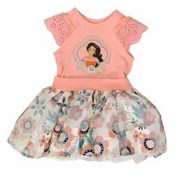 princess dress for girls cap sleeve elena