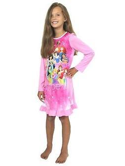 Disney Princess Girls Nightgown Pajamas  21DP255GDL
